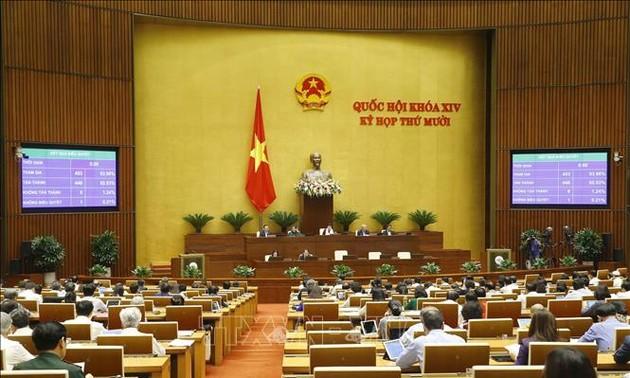 Quốc hội biểu quyết thông qua Luật Người lao động Việt Nam đi làm việc ở nước ngoài theo hợp đồng (sửa đổi)