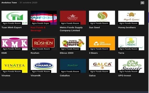 Doanh nghiệp Việt tham gia Triển lãm quốc tế trực tuyến về công nghiệp thực phẩm và nông nghiệp tại Algeria