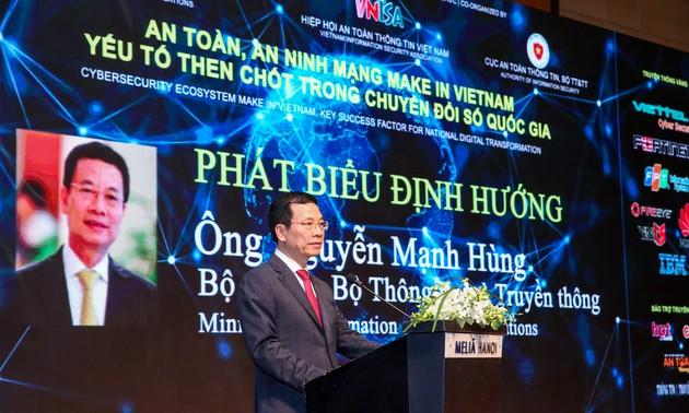 An toàn, an ninh mạng Make in Việt Nam - yếu tố then chốt trong Chuyển đổi số quốc gia