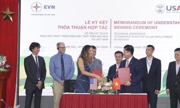Hoa Kỳ hỗ trợ thúc đẩy triển khai năng lượng sạch tại Việt Nam
