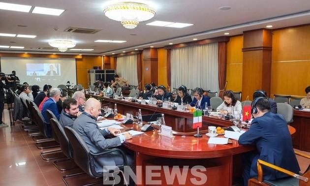 Khóa họp lần thứ 6 Ủy ban Hỗn hợp về Hợp tác Kinh tế Việt Nam Italy