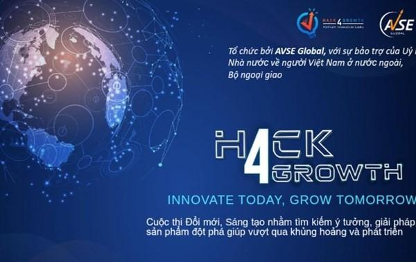 """Trao giải """"Đổi mới Sáng tạo toàn cầu Hack4Growth 2020"""""""
