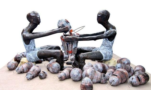 Họa sĩ Kù Kao Khải và những tác phẩm nghệ thuật vì môi trường