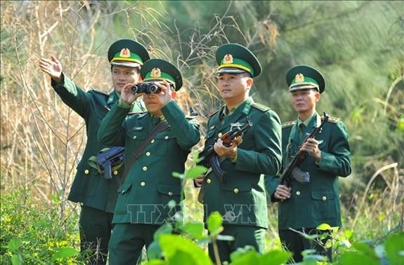 Tăng cường lực lượng quản lý, bảo vệ biên giới phòng, chống dịch COVID-19