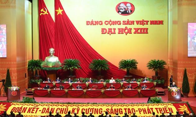 Bế mạc Đại hội đại biểu toàn quốc lần thứ XIII của Đảng cộng sản Việt Nam