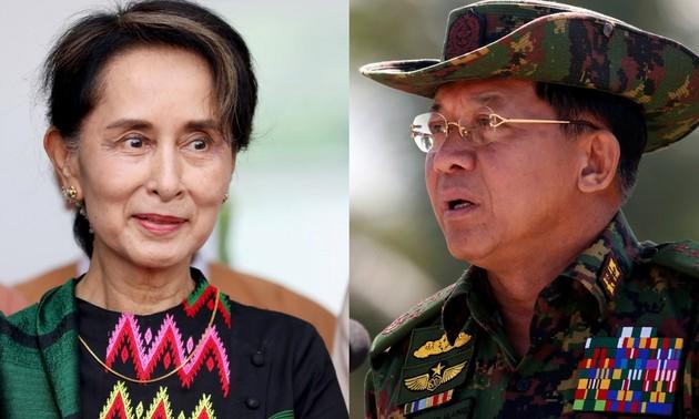 Việt Nam hết sức quan tâm theo dõi tình hình đang diễn ra tại Myanmar