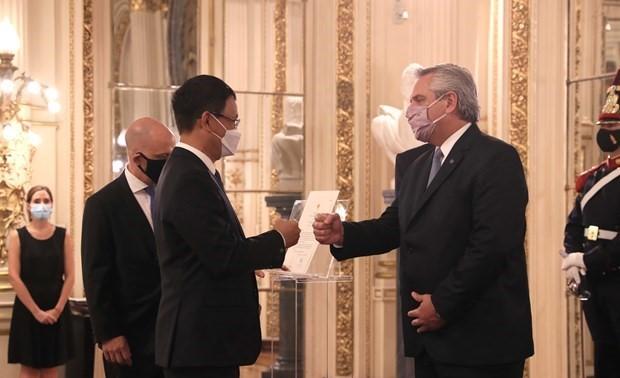 Việt Nam tiếp tục là một trong những đối tác quan trọng của Argentina