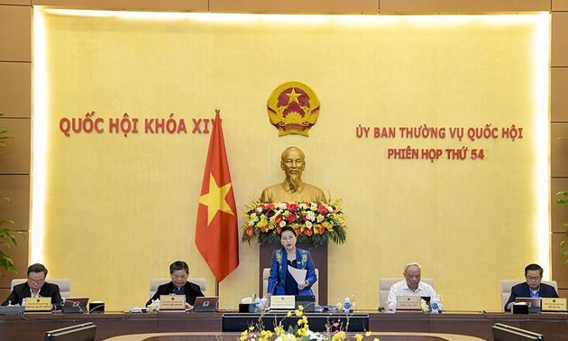 Bế mạc Phiên họp thứ 54 Ủy ban Thường vụ Quốc hội