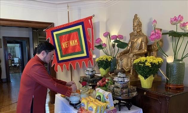 Đại sứ quán Việt Nam tại Canada tổ chức lễ Giổ Tổ Hùng Vương theo hình thức trực tuyến