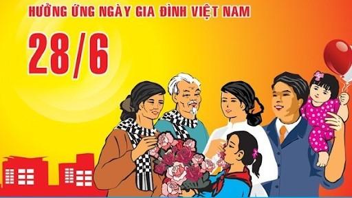 Tổ chức hoạt động kỷ niệm 20 năm Ngày Gia đình Việt Nam