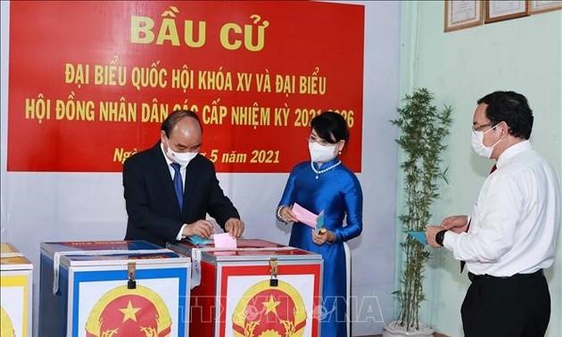 Truyền thông Nhật Bản phản ánh đậm nét sự kiện chính trị tại Việt Nam