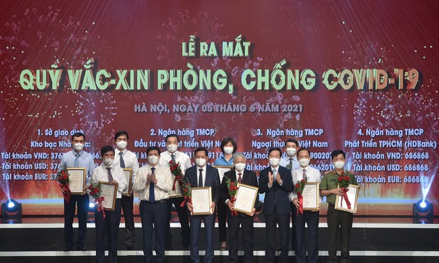 Đại diện nhiều tổ chức quốc tế tại Việt Nam đánh giá cao Quỹ vaccine phòng COVID-19