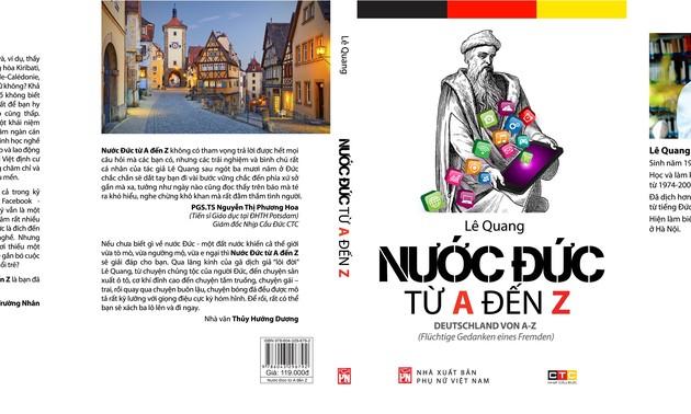 Nước Đức từ A đến Z trong mắt dịch giả Lê Quang