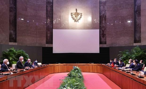 Tăng cường quan hệ đoàn kết, hợp tác toàn diện giữa Việt Nam - Cuba