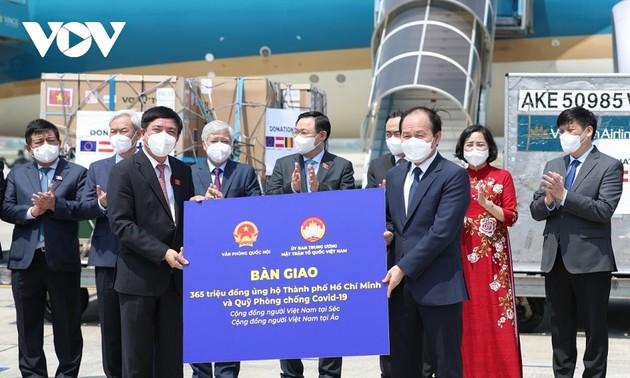ประเทศยุโรปสนับสนุนวัคซีนและการถ่ายทอดเทคโนโลยีผลิตวัคซีนให้แก่เวียดนาม