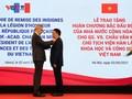 GS.VS. Châu Văn Minh, Chủ tịch Viện Hàn lâm Khoa học và Công nghệ Việt Nam được trao Huân chương Bắc đẩu Bội tinh của Pháp