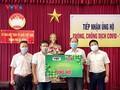 """VOV trao quà """"San sẻ yêu thương- Đồng hành chống dịch"""" tại các tỉnh miền Trung"""