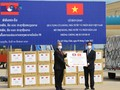 Vietnam provides aid for Laos' COVID-19 fight