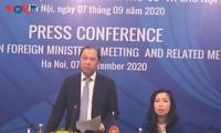 Vietnam está listo para la LIII Conferencia de Ministros de Relaciones Exteriores de la Asean