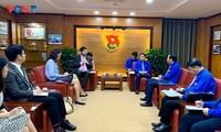 Unión juvenil de Vietnam consolida la cooperación con la Unesco