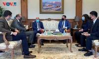Promueven cooperación multifacética entre Vietnam y Egipto