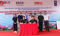 UXO-free land handed over to Binh Dinh province