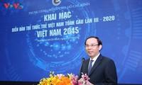Eröffnung des Forums der jungen Akademiker Vietnams 2020
