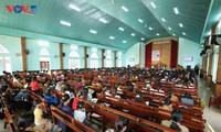 Protestanten des Dorfes Plei Mo Nu führen ein bedeutendes Leben