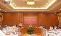 KPV-Generalsekretär Nguyen Phu Trong leitet die Sitzung des zentralen Verwaltungsstabs für Korruptionsbekämpfung