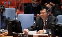 Vietnam ruft zur Förderung der Dialoge und Vertrauensbildung für eine friedliche Lösung in Syrien auf