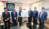 越南向尼泊尔防疫工作提供帮助