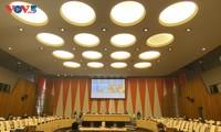 越南在联安理会国际法庭非正式工作组会议上承诺促进对话