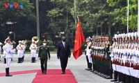 越南和美国推动防务合作