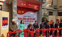 Exhiben objetos que reflejan los doce Congresos Nacionales del Partido Comunista de Vietnam