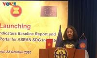 Mengembangkan sistim  informasi statistik  sinkron dalam ASEAN