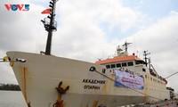 """Viện Hàn lâm Khoa học và Công nghệ Việt Nam tổ chức lễ trực tuyến đón tàu nghiên cứu """"Viện sỹ Oparin"""""""