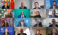 越南与联安理会:联合国安理会就叙利亚问题举行会议  通过涉利比亚和索马里文件