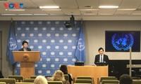 越南正式展开联合国安理会轮值主席国的各项活动