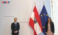 Förderung der Zusammenarbeit zwischen Vietnam und Österreich