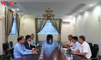 Pakar VOV selalu berada dalam hati sahabat-sahabat Kamboja