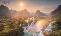 Красота уезда Чунгкхань провинции Каобанг с высоты птичьего полёта