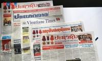 Truyền thông Lào đồng loạt đưa tin về Đại hội lần thứ XIII Đảng Cộng sản Việt Nam