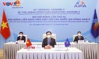 Đại hội đồng AIPA-42: Cùng nhau phấn đấu xây dựng một Cộng đồng ASEAN thịnh vượng, tự cường
