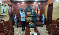 Thúc đẩy mối quan hệ gắn bó, thuỷ chung Việt Nam-Lào không ngừng phát triển