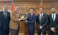 Việt Nam và Ai Cập: tăng cường hợp tác cảng biển và thương mại