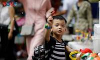 Tìm về tuổi thơ ở phố Hàng Mã dịp Trung Thu