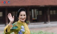 NSND Trà Giang chia sẻ bí quyết sống khỏe, đẹp ở tuổi 80