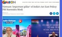 La presse indienne salue la relation entre l'Inde et le Vietnam
