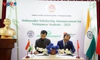 มหาวิทยาลัยอินเดีย 4 แห่งให้คำมั่นมอบทุนการศึกษา 100 ทุนให้แก่นักศึกษาเวียดนาม
