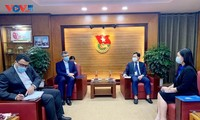 Thúc đẩy quan hệ hợp tác thanh niên hai nước Việt Nam - Iran